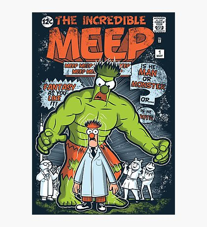 Incredible Meep Photographic Print