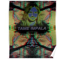Trippy Tame Impala Poster