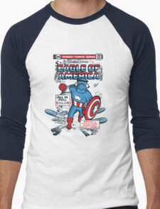 Eagle of America Men's Baseball ¾ T-Shirt