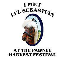 I Met Lil Sebastian Photographic Print