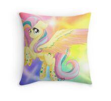 Rainbow Power Fluttershy Throw Pillow