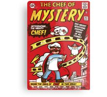 Chef of Mystery Metal Print