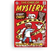 Chef of Mystery Canvas Print
