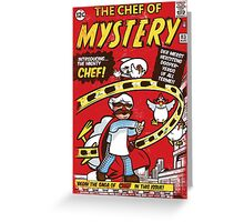 Chef of Mystery Greeting Card