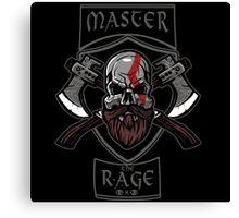 Master the Rage Canvas Print