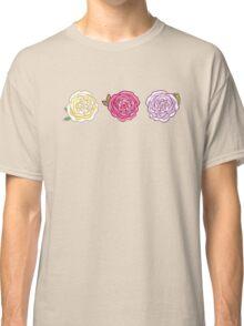 Decorative Roses Classic T-Shirt