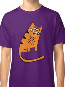 Halloween Cats - Purple Classic T-Shirt