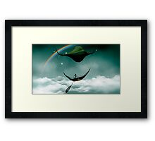 Sky Traveler Framed Print
