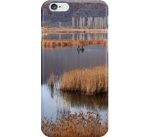 Fishermen in Chimaditis lake - Florina iPhone Case/Skin