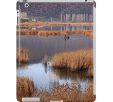 Fishermen in Chimaditis lake - Florina iPad Case/Skin