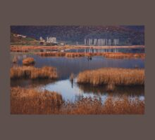 Fishermen in Chimaditis lake - Florina T-Shirt