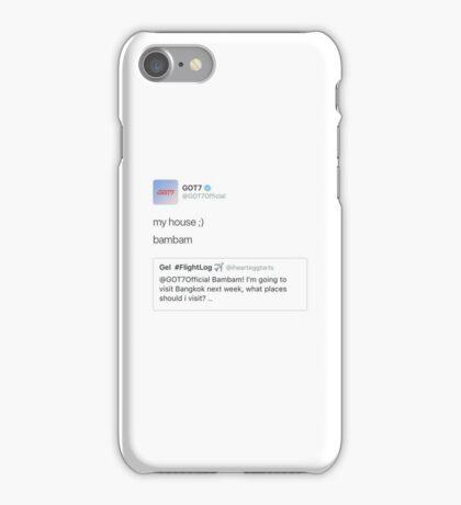 ICONIC TWEETS - GOT7 BAMBAM iPhone Case/Skin