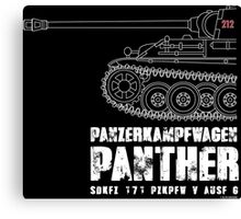 PANTHER TANK Canvas Print
