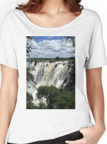 Victoria Falls On The Zambezi River Women's Relaxed Fit T-Shirt