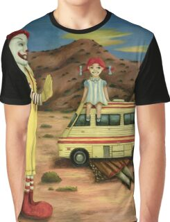 Fast Food Nightmare 5 Graphic T-Shirt