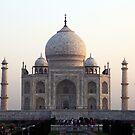 The Taj Mahal at dawn by John Dalkin