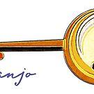 Banjo by evisionarts