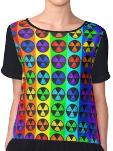 Radically Radioactive Hipster Symbol Chiffon Top