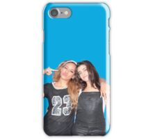 Lauren Jauregui & Dinah Jane (blue background) iPhone Case/Skin