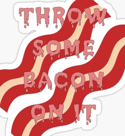 Nick's Bacon Sticker