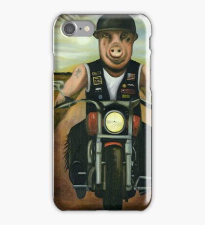 Hog Wild iPhone Case/Skin