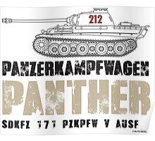 PANTHER TANK Poster