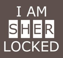 I AM SHERLOCKED Kids Clothes