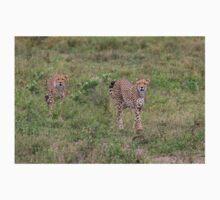 Female Tanzanian Cheetah and her Young Kids Tee