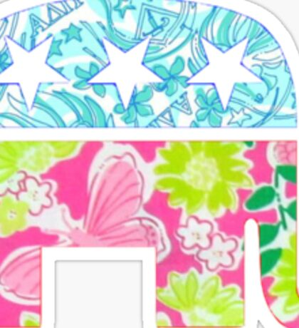 Lily Pulitzer Republican Elephant Sticker