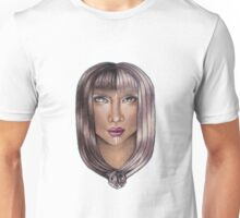 Gemini ♊ Astrological Fantasy Portrait Unisex T-Shirt