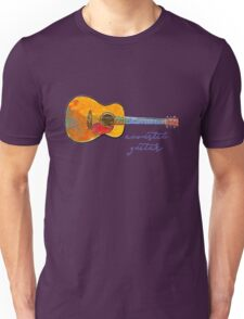 Acoustic Guitar Unisex T-Shirt
