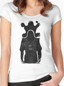 Noob Saibot Babysitting Women's Fitted Scoop T-Shirt