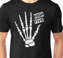 Skeleton High Five Unisex T-Shirt