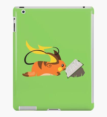 Reading Raichu iPad Case/Skin