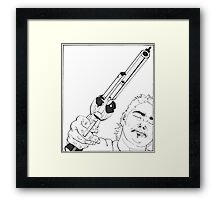 Gangsta I Framed Print