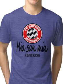 Bayern Munchen Fc - Mia San Mia Tri-blend T-Shirt