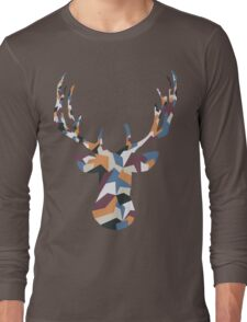 Deer Busty Long Sleeve T-Shirt
