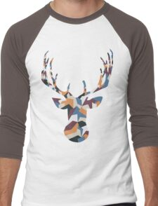 Deer Busty Men's Baseball ¾ T-Shirt