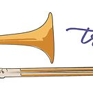 Trombone by evisionarts