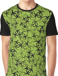 Biohazard (black on green) Graphic T-Shirt