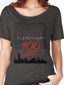 #Elementary100  Women's Relaxed Fit T-Shirt
