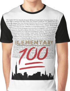 #Elementary100  Graphic T-Shirt