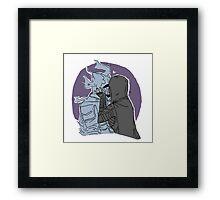 Karliah and Gallus Framed Print