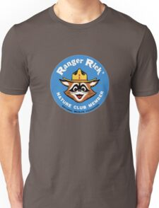 Ranger Rick's Nature Club Vintage Member Badge Unisex T-Shirt