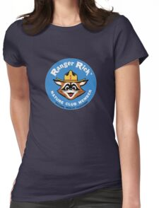 Ranger Rick's Nature Club Vintage Member Badge Womens Fitted T-Shirt
