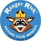 Ranger Rick's Nature Club Vintage Member Badge by hilda74
