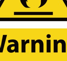 HELL IS HIGHLY FLAMMABLE- Christian Sign from #SignsoftheTimes Series Sticker