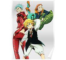 Ban King Meliodas Anime Manga Shirt Poster