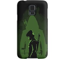 Green shadow Samsung Galaxy Case/Skin