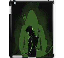 Green shadow iPad Case/Skin